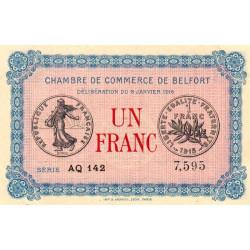 Belfort - Pirot 23-24 - 1 franc - 1916 - Etat : NEUF