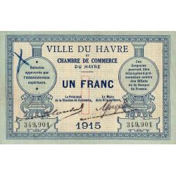 Le Havre - Pirot 68-10 - 1 franc - Etat : TTB