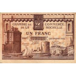 La Rochelle - Pirot 66-3a-C - 1 franc - 1915  - Etat : TB