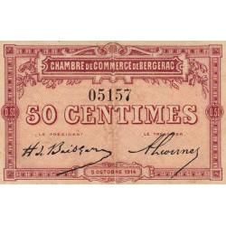 Bergerac - Pirot 24-1 - 50 centimes - 05/10/1914 - Etat : TTB