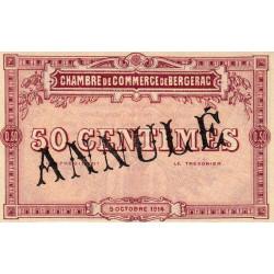 Bergerac - Pirot 24-2 - 50 centimes - Annulé - 1914 - Etat : NEUF