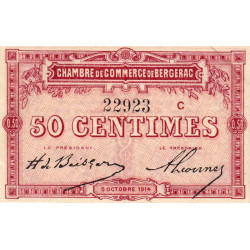 Bergerac - Pirot 24-8b - 50 centimes - Etat : SPL