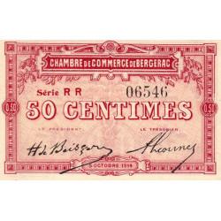 Bergerac - Pirot 24-12 - 50 centimes - Série RR - 05/10/1914 - Etat : NEUF