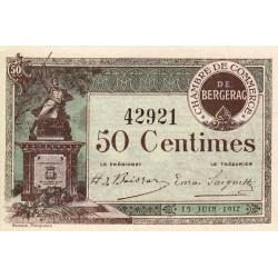Bergerac - Pirot 24-24 - 50 centimes - 15/06/1917 - Etat : SPL+