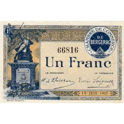 Bergerac - Pirot 24-27 - 1 franc - 15/06/1917 - Etat : NEUF