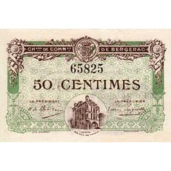 Bergerac - Pirot 24-31 - 50 centimes - 05/08/1918 - Etat : SPL+