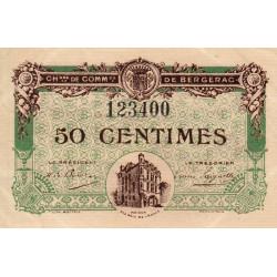 Bergerac - Pirot 24-31 - 50 centimes - 05/08/1918 - Etat : SUP+