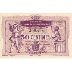Bergerac - Pirot 24-35 - 50 centimes - 12/07/1920 - Etat : SUP