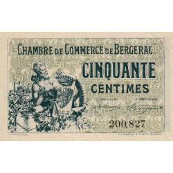 Bergerac - Pirot 24-38 - 50 centimes - 1921 - Etat : SPL