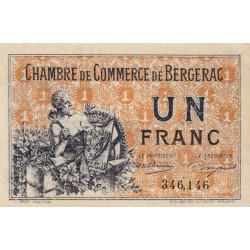 Bergerac - Pirot 24-40 - 1 franc - 10/09/1921 - Etat : SPL