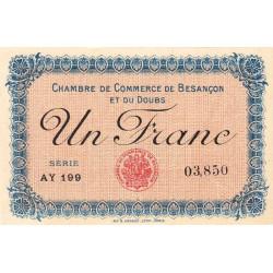 Besançon (Doubs) - Pirot 25-18 - 1 franc - Série AY 199 - Sans date (1915) - Etat : NEUF