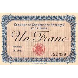 Besançon (Doubs) - Pirot 25-20 - 1 franc - Etat : SUP