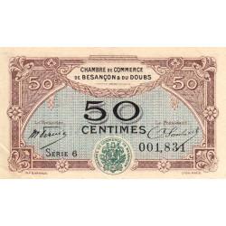 Besançon (Doubs) - Pirot 25-22 - 50 centimes - Sans date - Etat : SUP+