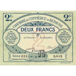 Béthune - Pirot 26-10 - 2 francs - Série 016 - 04/10/1915 - Etat : SPL+