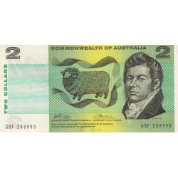 Australie - Pick 38d - 2 dollars - 1972 - Etat : TTB+