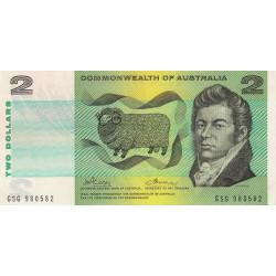 Australie - Pick 38d - 2 dollars - 1972 - Etat : SPL