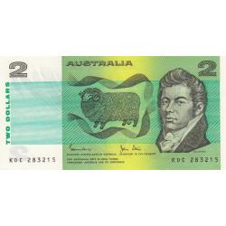 Australie - Pick 43d - 2 dollars - 1983 - Etat : NEUF