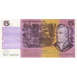 Australie - Pick 44g - 5 dollars - Série QLC - 1991 - Etat : NEUF