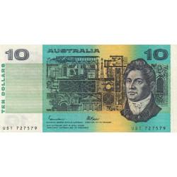 Australie - Pick 45e - 10 dollars - 1985 - Etat : TTB