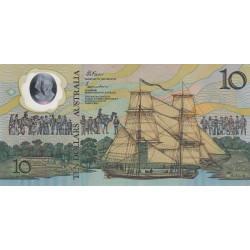 Australie - Pick 49b - 10 dollars - 1988 - Polymère commémoratif - Etat : NEUF