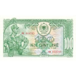 Albanie - Pick 30a - 100 lekë - Série NR - 1957 - Etat : NEUF
