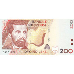 Albanie - Pick 71a - 200 lekë - 2007 - Etat : NEUF