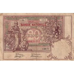 Belgique - Pick 62d - 20 francs - 14/05/1908 - Etat : TB+