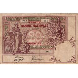 Belgique - Pick 62d - 20 francs - 14/12/1908 - Etat : TB+