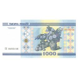 Bielorussie - Pick 28a - 1'000 rublei - 2000 - Etat : NEUF