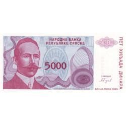 Bosnie Herzegovine - Pick 149 - 5'000 dinara - 1993 - Etat : NEUF