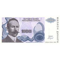 Bosnie Herzegovine - Pick 152 - 1'000'000 dinara - 1993 - Etat : NEUF