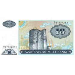 Azerbaïdjan - Pick 16 - 10 manat - 1993 - Etat : NEUF