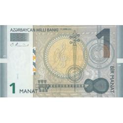 Azerbaïdjan - Pick 24 - 1 manat - 2005 - Etat : NEUF