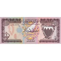 Bahrain - Pick 7 - 1/2 dinar - 1979 - Etat : NEUF