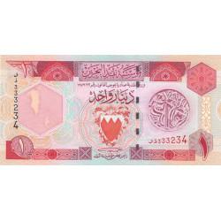 Bahrain - Pick 19b - 1 dinar - 1998 - Etat : NEUF
