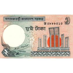 Bangladesh - Pick 6Ca2 - 2 taka - 1989 - Etat : NEUF