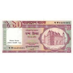 Bangladesh - Pick 32 - 10 taka - 1996 - Commémoratif - Etat : NEUF