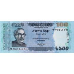 Bangladesh - Pick 57a - 100 taka - 2011 - Etat : NEUF