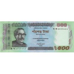 Bangladesh - Pick 58c - 500 taka - 2013 - Etat : NEUF