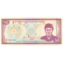 Bhoutan - Pick 24 - 50 ngultrum - 2003 - Série F/4 - Etat : NEUF