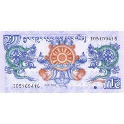 Bhoutan - Pick 27a - 1 ngultrum - 2006 - Etat : NEUF