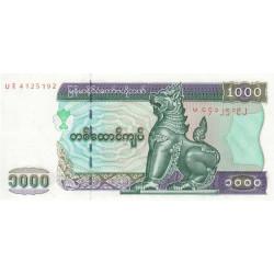 Myanmar - Pick 80 - 1'000 kyats - Série UE - 2004 - Etat : NEUF
