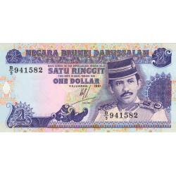 Brunei - Pick 13a - 1 dollar - 1991 - Etat : NEUF