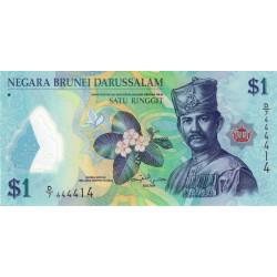 Brunei - Pick 35a - 1 dollar - 2011 - Polymère - Etat : NEUF