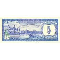 Antilles Néerlandaises - Pick 15b - 1984 - 5 gulden - Etat : NEUF