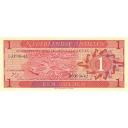 Antilles Néerlandaises - Pick 20a - 1 gulden - 08/09/1970 - Etat : NEUF