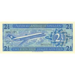 Antilles Néerlandaises - Pick 21a - 2 1/2 gulden - 08/09/1970 - Etat : NEUF