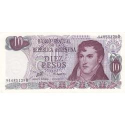 Argentine - Pick 300 - 10 pesos - Série D - 1976 - Etat : NEUF