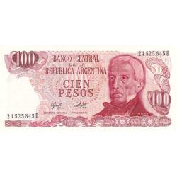 Argentine - Pick 302a2 - 100 pesos - Série D - 1976 - Etat : NEUF
