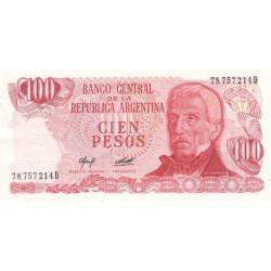 Argentine - Pick 302b2 - 100 pesos - Série D - 1976 - Etat : SPL+